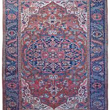 antique ahar heriz carpet persia