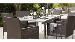 Crate barrel outdoor furniture Bench Crate Barrel Outdoor Furniture Modern Dune Faux Concrete Dining Table Reviews And Throughout Goldwakepressorg Crate Barrel Outdoor Furniture Brilliant And Barrell Gigadubai Com