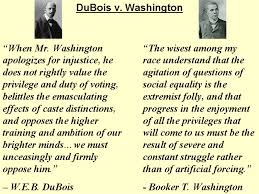 t washington vs w e b dubois essay booker t washington vs w e b dubois essay