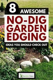 8 awesome no dig garden edging ideas