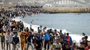 Ισπανία: Μαζικό κύμα μεταναστών στη Θέουτα - Χιλιάδες αιφνίδιες αφίξεις μέσα σε ένα 24ωρο - 18.05.2021, Sputnik Ελλάδα