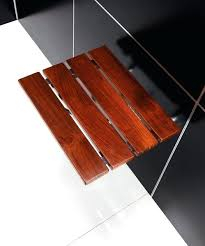 folding teak shower bench teak bench shower folding wall mount