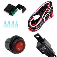 compare prices on wiring harness kit online shopping buy low Boat Wiring Harness Kit dc 12v car bus boat relay wiring rocker switch rv led light bar wiring harness kit boat trailer wiring harness kit