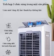 Quạt điều hòa Quạt hơi nước công nghiệp Quạt điều hòa không khí hơi nước  gia đình Quạt làm mát không khí Điện máy bé XANH