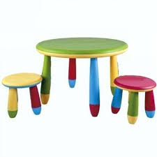 round childrens table round table low stools childrens table and chair set