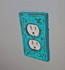 decorative electrical outlet covers.  Covers Turquoise Decorative Electrical Outlet Plate Plugin Cover Fleur De Lisu2026 And Covers A
