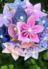 Paper Flower Centerpieces At Wedding Paper Flower Arrangements Random Ramblings Paper Flower