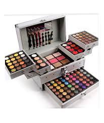 details of makeup kit full professional makeup set box