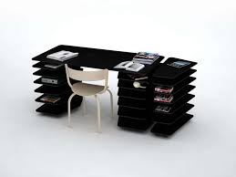 unique office desks for home furniture mathieu lehanneur black strates system desk interior design atlanta amazing office desk black 4
