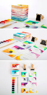 Make Your Own Business Card Design Diy Watercolor Business Cards Gallery Plus Quick Tips On