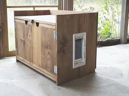 litter box furniture cat enclosed covered. Wood Litter Boxes Amazing Of Best Hidden Cat Box Furniture For To Hide . Enclosed Covered