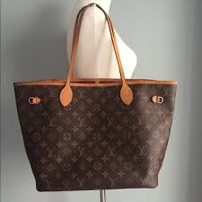 louis vuitton neverfull mm. sold louis vuitton neverfull mm tote - authentic mm