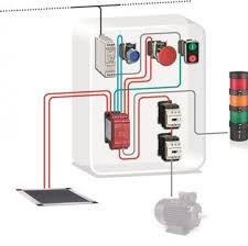 safety module safety mat contactor cat 3 pl d, sil 2 stop 3 phase motor starter wiring diagram pdf at Schneider Electric Contactor Wiring Diagram