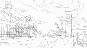 Hướng Dẫn 5 Bước Vẽ Background Cơ Bản Cho Phim Hoạt Hình 2D