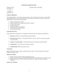 Business Communication Letters Pdf Business Communication Course Handout Docshare Tips