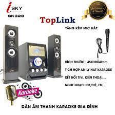Dàn Âm Thanh Giải Trí Đỉnh Cao - Loa Vi Tính Hát Karaoke Âm Thanh Đỉnh Cao  Có Kết Nối Bluetooth Isky - SK328 tại Hà Nội