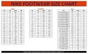Kids Foot Locker Size Chart Bedowntowndaytona Com