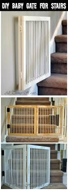 easy baby gate for stairs