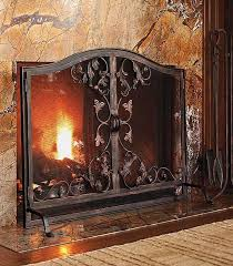 toscana fireplace screen by frontgate
