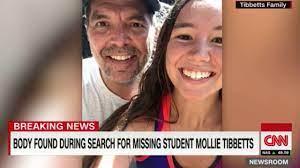 old Iowa student Mollie Tibbetts ...
