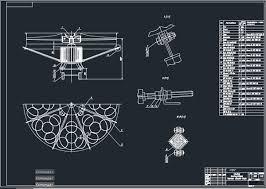 Все работы студента Клуб студентов Технарь  Привод вентилятора аппарата воздушного охлаждения 2АВО 75 Чертеж Оборудование транспорта нефти и газа