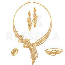 Dubai Gold Designs Catalogue Rossella For Gold Diamond Jewellery In Dubai Full Set