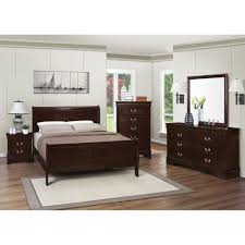 Modern Sleigh Bedroom Sets White Leather Queen Bedroom Set Image Of Modern Queen Bedroom Set