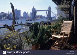 Small Picture private river balcony garden London Design Steven Crisp Stock