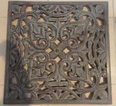 wooden carved wall decor 01