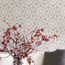 Wall Stencil Patterns Beauteous Geometric Indian Stencil Patterns Wall Stencils Instead Of Wallpaper