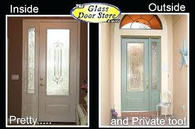 replacing glass in front door attractive single front door with glass insert partial size the for