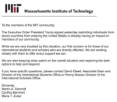 An Iranian Mit Student Home For Winter Break Is Barred From