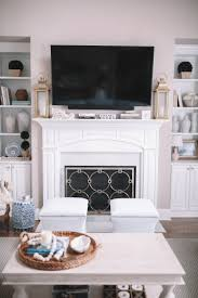 Ballard Designs Kendall Side Table Our Living Room Reveal Southern Curls Pearls