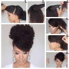 Coiffure Cheveux Boucléscrépus Frisés Et Afro Femme