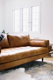 modern leather sofa. Enchanting Contemporary Beige Leather Sofa For Home Furniture Ideas Modern E