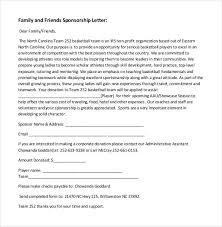 Sponsorship Letters Stunning 44 Sponsorship Letter Templates PDF DOC Free Premium Templates