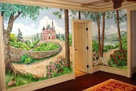 Kids Room Mural Ideas Murals For Preschool Girls Home Design Cre