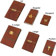 The Travelers Notebook Sizing Guide Galen Leather