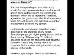 should governments spend on time activities apart from 68 should governments spend on time activities apart from education