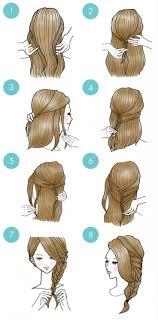 Coiffure Cheveux Long Dessin L L L L L L