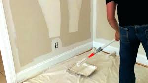 to paint a room
