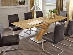 Great Hochwertiger Säulentisch Ataro 2XL Ausziehbar Esstisch Massivholz Bootsform  Säule C X Form Holztisch Varianten U2013