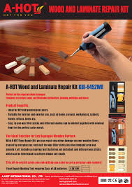 Mini And Electronic Wood Floor Fix Kit With Repair Wax Set