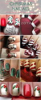Festive Nail Art Designs for the Holidays | French nails and Makeup