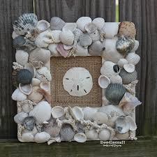 seashell memory frame keepsake