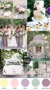 GORGEOUSLY ROMANTIC-Pastel Wedding Colour Palette { Cream,Lilac,Mauve and Mint  green