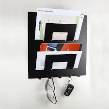 Key Holder For Wall Letter Rack And Key Holder By The Metal House Limited