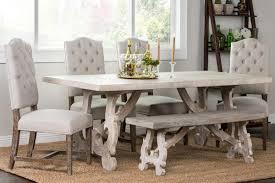classic home elena 7 piece dining set 51010550set