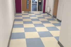 school tile floor.  Tile Afon Taf School Merthyr Tydfil U2013 Polyflor Vinyl Tiles To School Tile Floor V