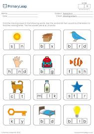 Writing the missing capital letters worksheet (free printable). Foundation Missing Letters A E I O U Worksheet Primaryleap Co Uk